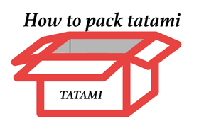How to pack tatami