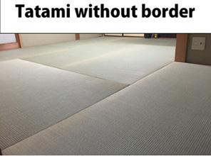 Tatami without border
