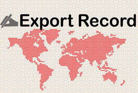 Export record of tatami